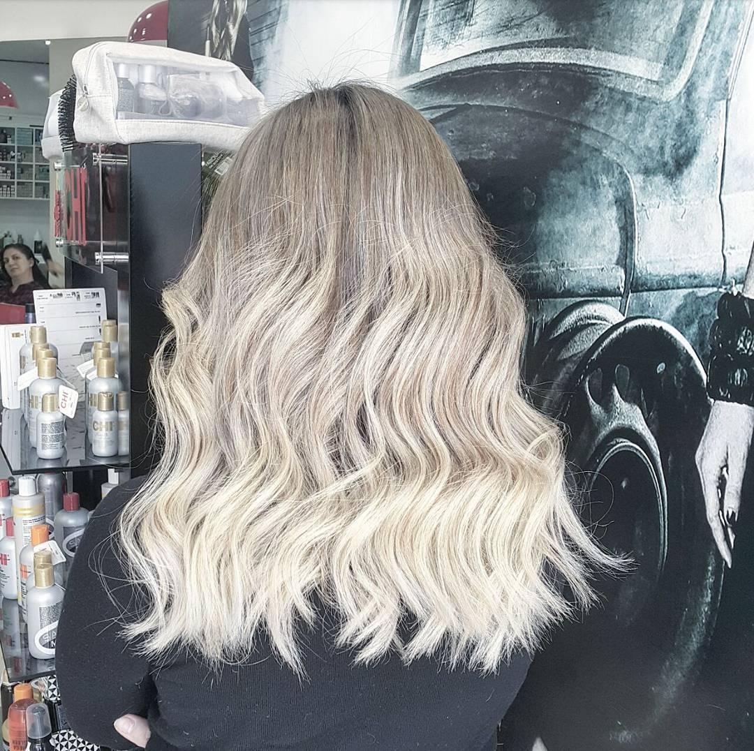 Doğal Ombre saç